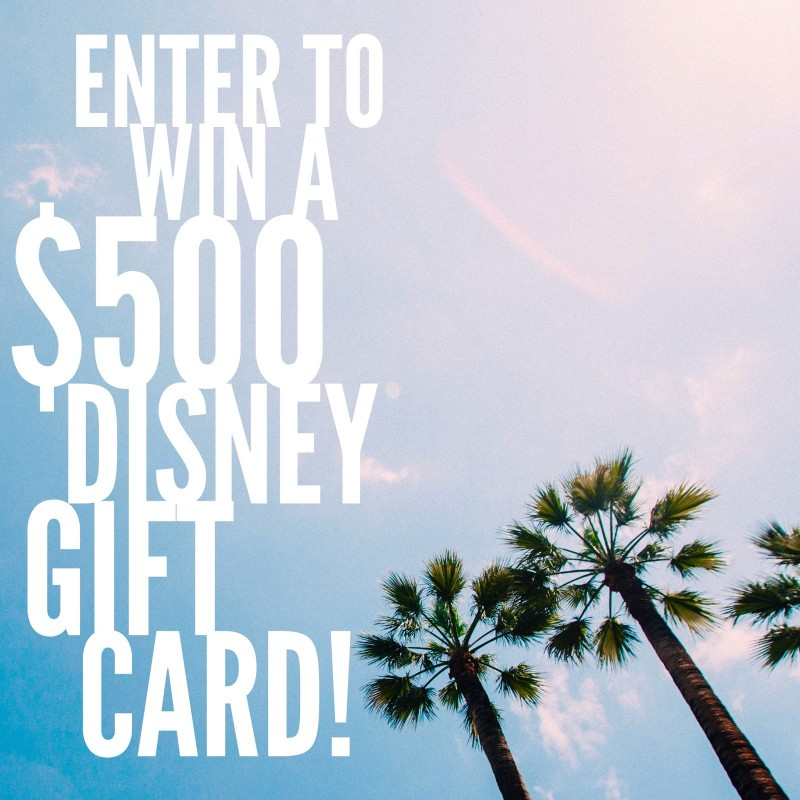 Disney #Giveaway – Win a $500 Disney Gift Card