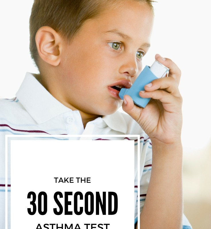 Take The 30 Second Asthma Test #30SecondAsthmaTest #ad