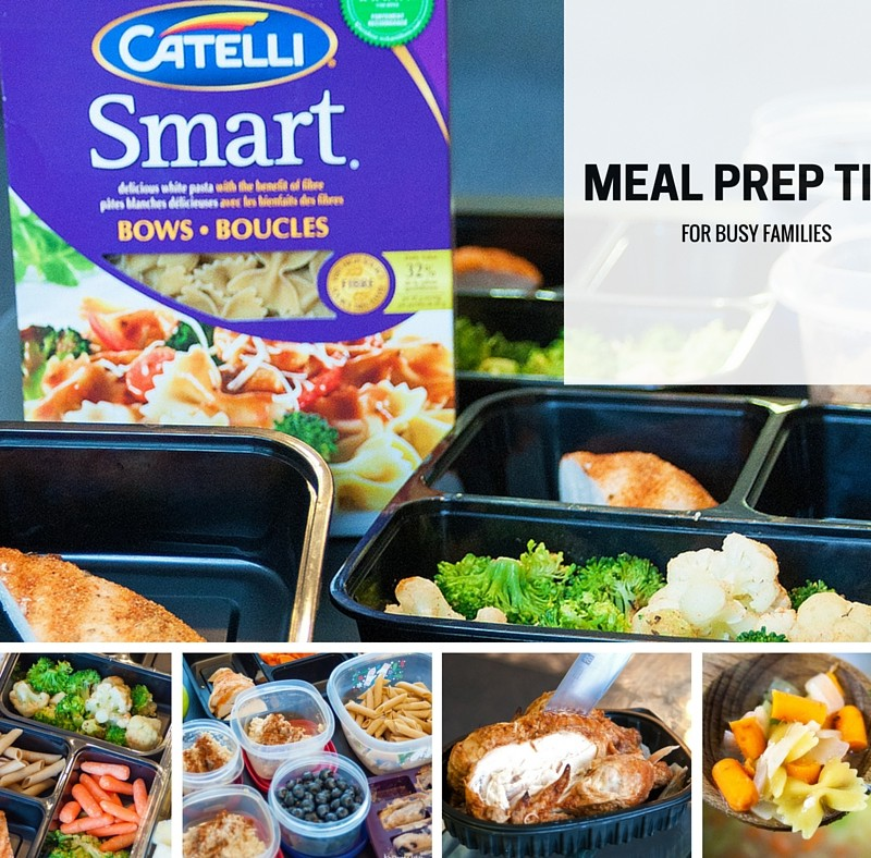 6 Meal Prep Tips For Busy Families #CatelliFamilies