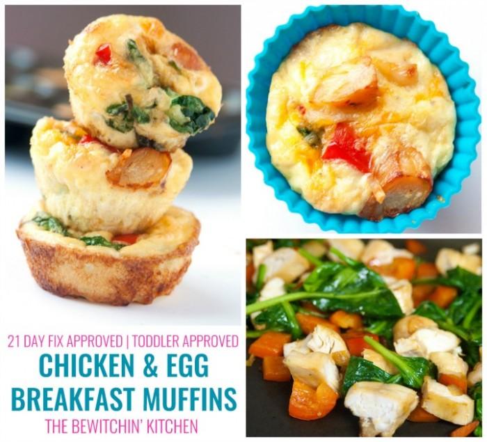 Chicken Breakfast Muffins #ChickenDotCa