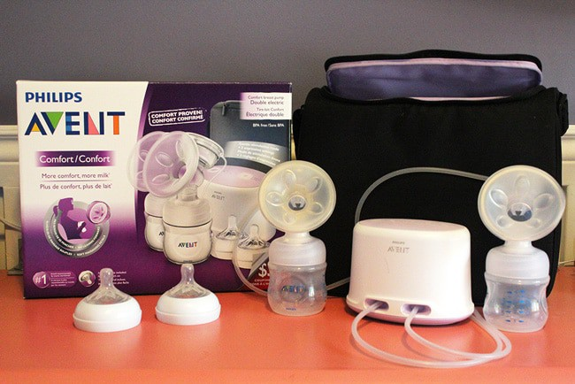 Philips Avent Comfort Double Electric Breast Pump GIVEAWAY #LoveIsInTheDetails