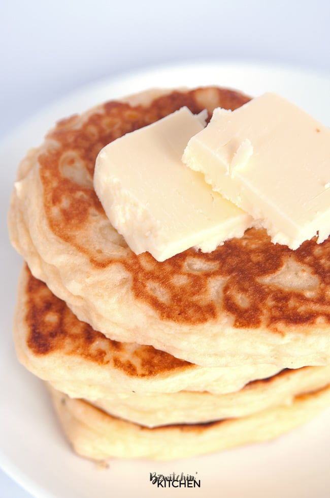 Gluten Free Buttermilk Pancakes | The Bewitchin' Kitchen