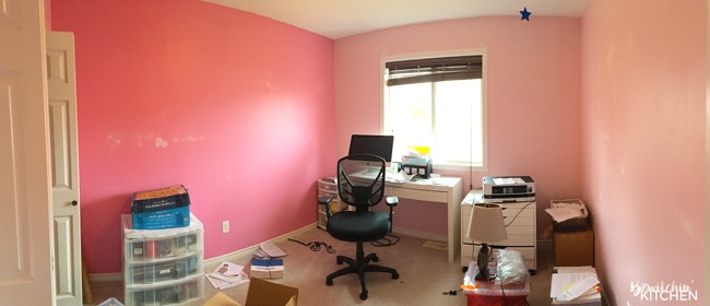 4 Steps To Prep For a Home Office Makeover. How to painlessly paint a room and get the perfect results.
