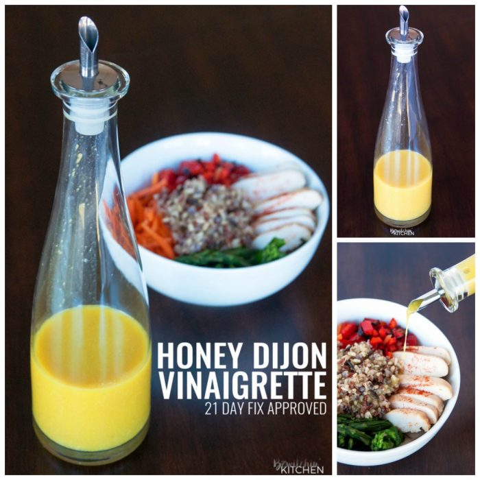 Honey Mustard Vinaigrette - this homemade salad dressing is perfect ...