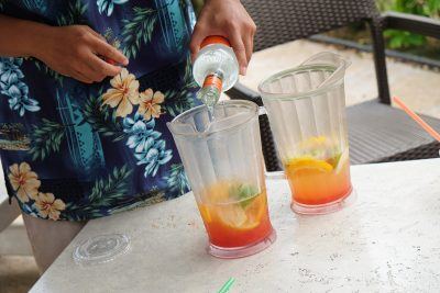 Tropical Drinks Recipe: Longboards Black Orchid. Perfect summer patio cocktail!