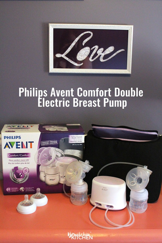 Philips Avent Comfort Double Electric Breast Pump Review from a mom who has had trouble breastfeeding in the past.