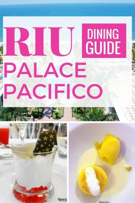 Food can make or break a travel experience. Here are the Riu Palace Pacifico dining options in Nuevo Vallarta (Riviera Nayarit). If you're planning a trip to Mexico (Puerto Vallarta area) check this out.