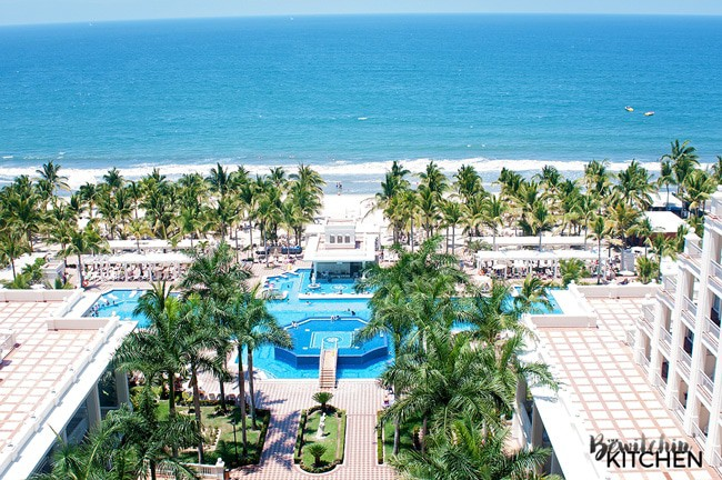 The view out the balcony of the Riu Palace Pacifico in the Riviera Nayarit, Mexico. A beautiful all inclusive resort in Nuevo Vallarta Mexico.