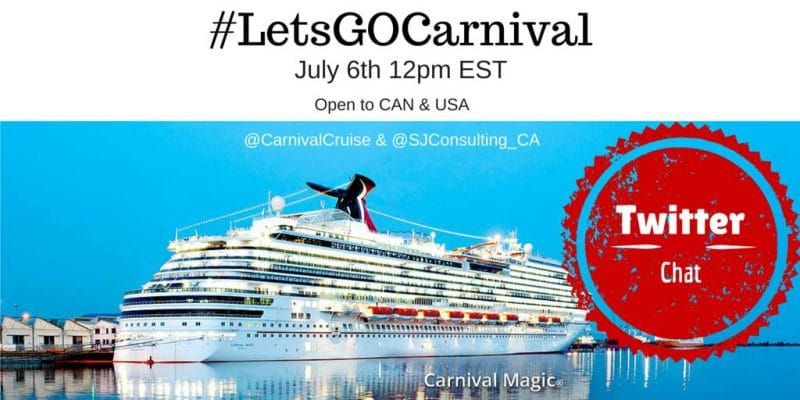 Lets Go Carnival Twitter Chat