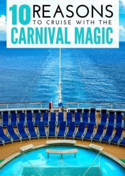 10 Reasons To Cruise with the Carnival Magic (2/2). If you're considering cruising for your next vacation you have to check out a Carnival Cruise - specifically the Carnival Magic 7 day western Caribbean cruise. Our family vacation opened up our eyes to travel and we had THE BEST time on the sea plus in Key West, Costa Maya (Mexico), Belize and Cozumel (Mexico).