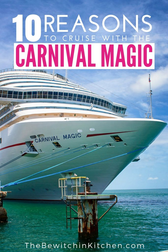 10 Reasons To Cruise with the Carnival Magic. If you're considering cruising for your next vacation you have to check out a Carnival Cruise - specifically the Carnival Magic 7 day western Caribbean cruise. Our family vacation opened up our eyes to travel and we had THE BEST time on the sea plus in Key West, Costa Maya (Mexico), Belize and Cozumel (Mexico).