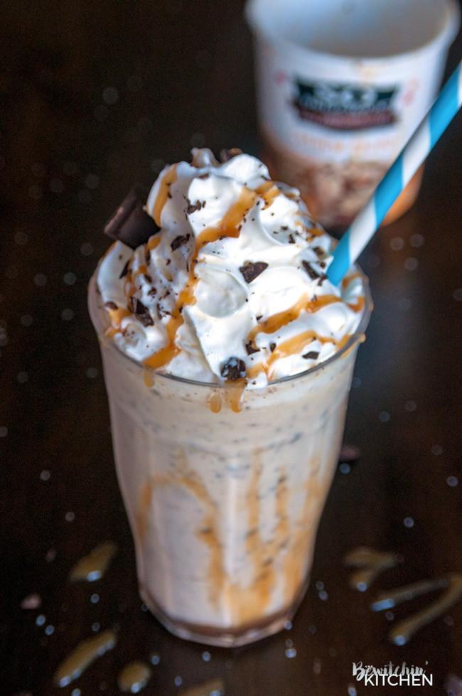Salted Caramel Milkshake Dairy Free The Bewitchin Kitchen