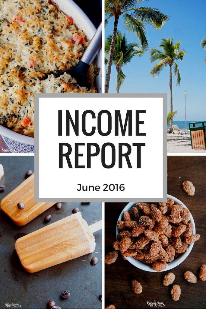 How much money do bloggers make? Here is the blog income report and blog traffic report for June 2016.