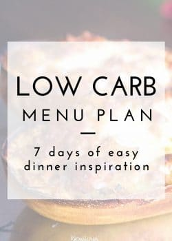 If you need help with a meal plan, this post has all the work done for you. A low carb meal plan that has some paleo recipes and clean eating inspiration for weight loss and feeling healthy!