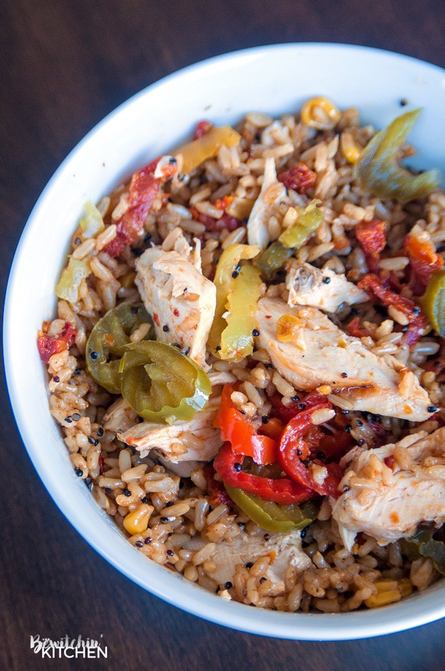 Easy Spanish Rice Bowl with Seeds of Change #SeedsOfChangeCA