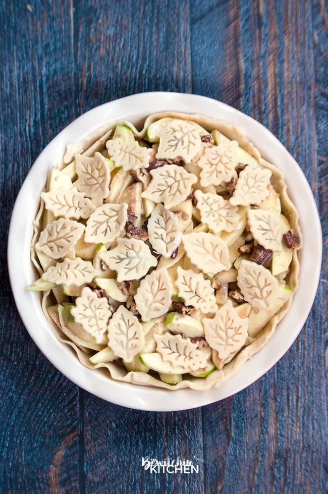 Apple Praline Pie #CookUpIncredible