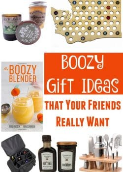 Boozy Gift Ideas (that your friends really want) - Whether it is the office White Elephant Party or coming up with gift ideas for everyone on your list, don't overthink it, give a boozy gift! Here are a few boozy gift ideas that your friends really want this year.