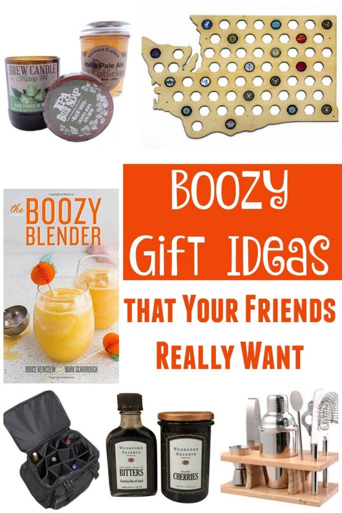We have the Boozy Book Club. We announce what we're drinking at the start of all our Hangouts. There's no way we weren't going to have at least a few ideas about the best gifts to get your boozy friends (or let's be honest, keep for yourself).