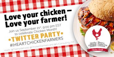 Chicken Month Twitter Party