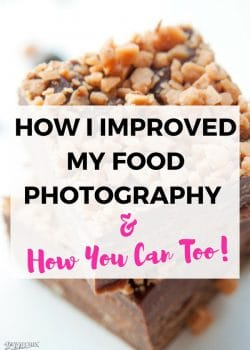 How To Improve Food Photography. This is how I improved my blog's food photography, the courses I took (available at Food Blogger Pro), and the camera gear I have.