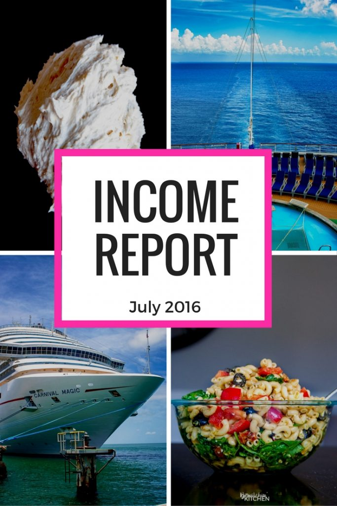 Blog Income Report – August 2016