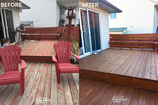 Free Behr Stain After Rebate At Home Depot More: How To Stain A Deck In 4 Easy Steps