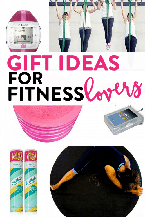 Gift Ideas for the fitness lovers - if you have a fitness enthusiast to buy for here are some fitness gifts they'll love! Gifts for fitness lovers - Christmas, birthdays, just because!