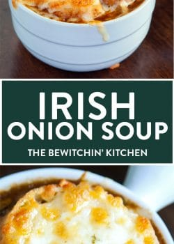 This Irish Onion Soup is a rich, yet smooth soup that's perfect for fall or  winter. It warms your bones after a day out in the cold.