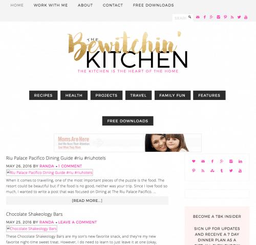 The Bewitchin Kitchen 2016