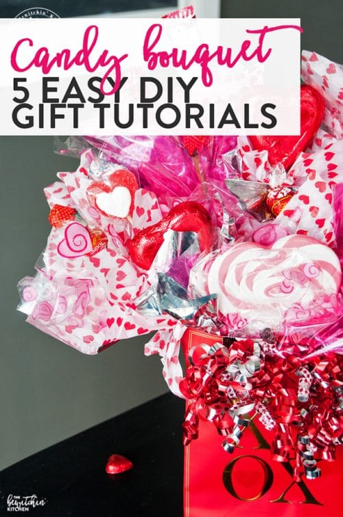 Candy Bouquets How To S Easy Diy Gift Idea The Bewitchin Kitchen