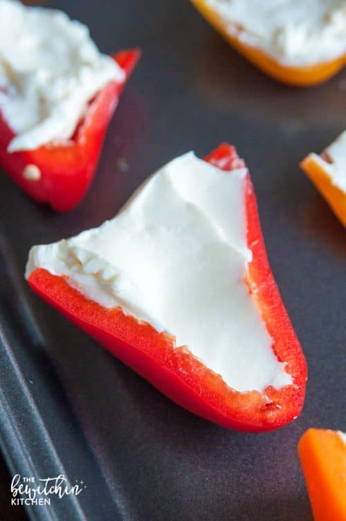 how to make stuffed hot peppers with cream cheese