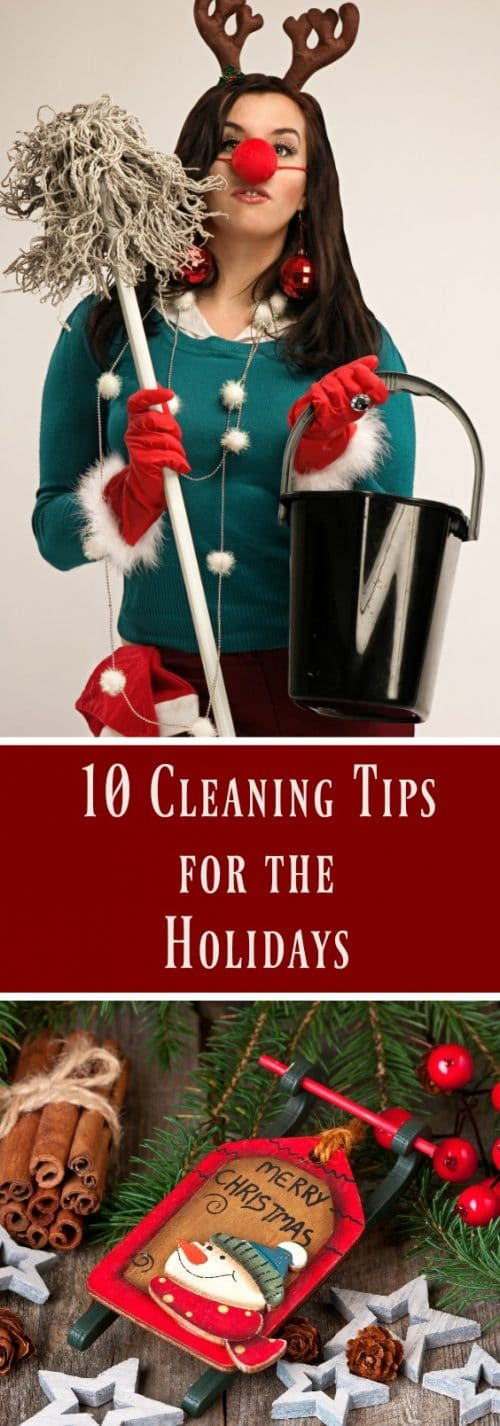 10 cleaning tips for the holidays