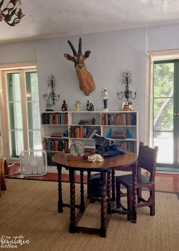 The Ernest Hemingway House in Key West, Florida. A museum of the writer and it's the home to 50 polydactyl cats! A great travel stop when you're on vacation in the keys.