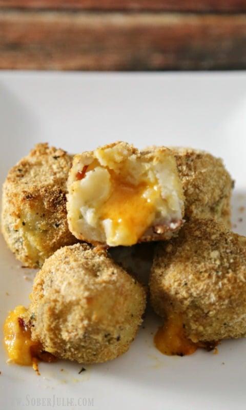Cheesy Loaded Potato Balls