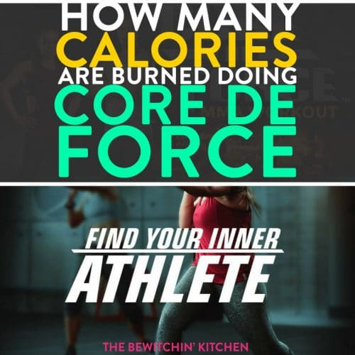 Curious on the calories burned doing Core De Force? I recorded my heart rate doing the workouts to give you a better number to help motivate your health and fitness goals.