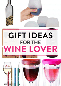Gift ideas for the wine lover.