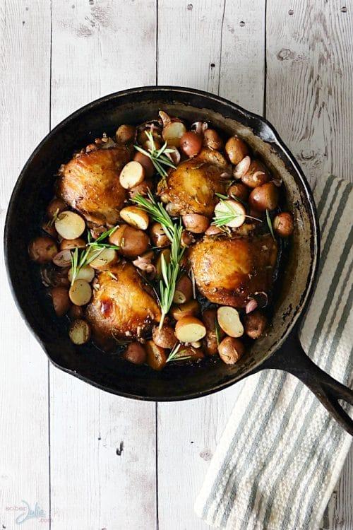 One Pot Balsamic Chicken