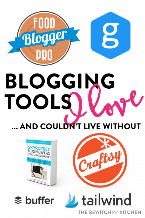 Blogging tools I love and couldn't live without. These tools make me a better blogger by saving me time and my helping me learn, which allows me to make more money at home doing I job I love.