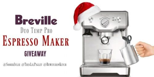 Breville's Duo Temp Pro Giveaway