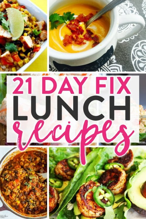 21 Day Fix Lunch Recipes The Bewitchin Kitchen