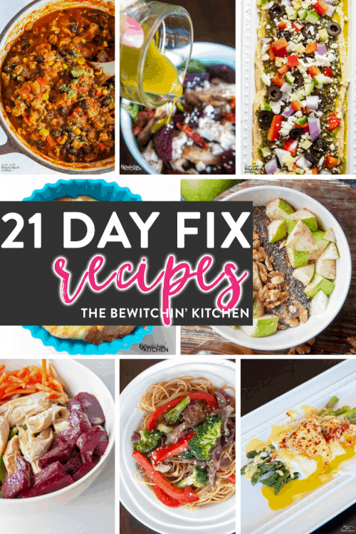 21 Day Fix recipes featured on the ULTIMATE 21 Day Fix resource guide - features reviews, 21 day fix results, and recipes.