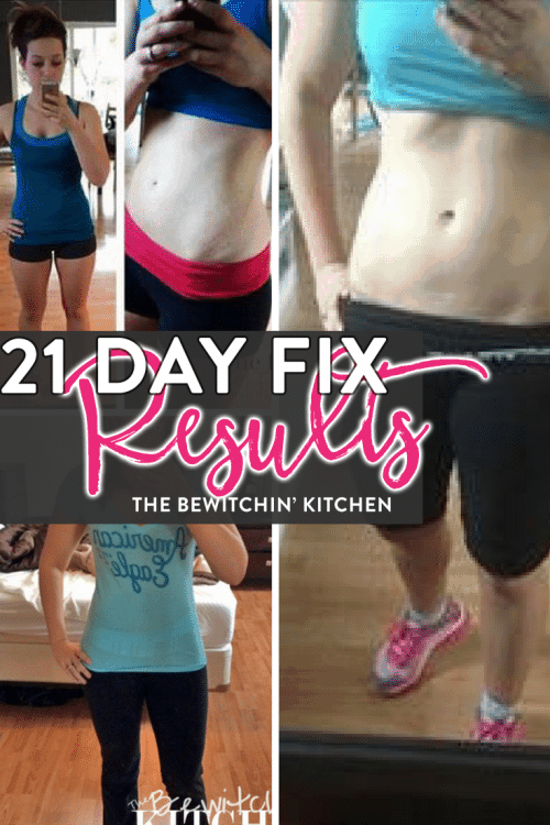 21 Day Fix RESULTS featured on the ULTIMATE 21 Day Fix resource guide - features reviews, 21 day fix results, and recipes.