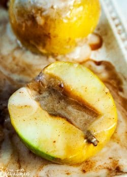 Baked Apples with Coconut Cream. This dairy free dessert is a healthier twist on apple pie.