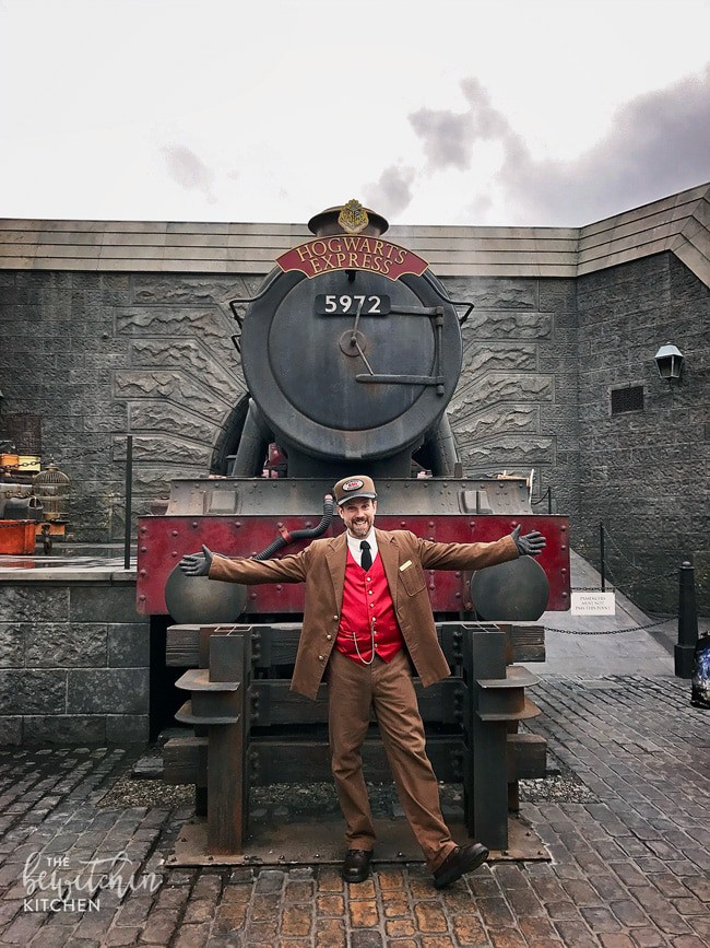 Wizarding World of Harry Potter - Hogwarts Express at Universal Studios Hollywood. Perfect for family travel.