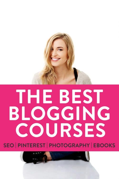 The secret on how to be a better blogger? Education! See my favorite blogging courses. Improve your SEO, Pinterest, food photography and learn how to launch and eBook.