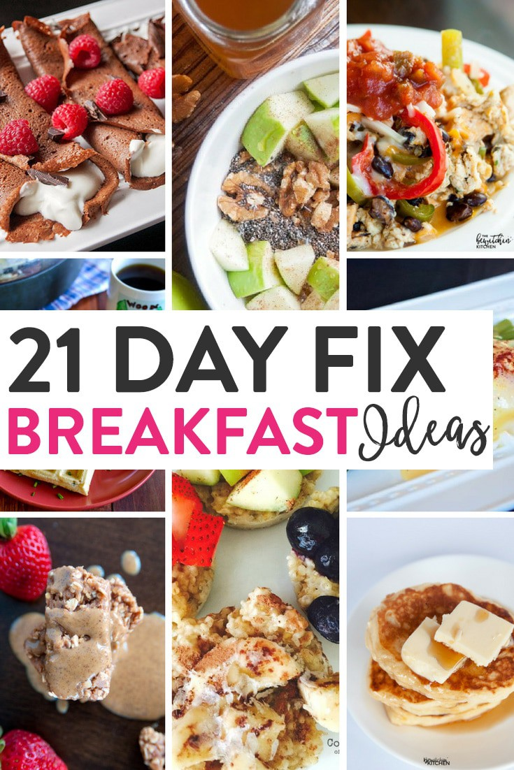 21 day fix breakfast ideas | the bewitchin' kitchen