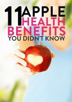 11 apple health benefits that you didn't know about. The last health tip is my favorite.