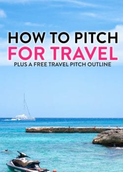 How to pitch for travel - a great blogging resource and how to for travel bloggers, beginner bloggers, and lifestyle bloggers. Share the world with your readers.
