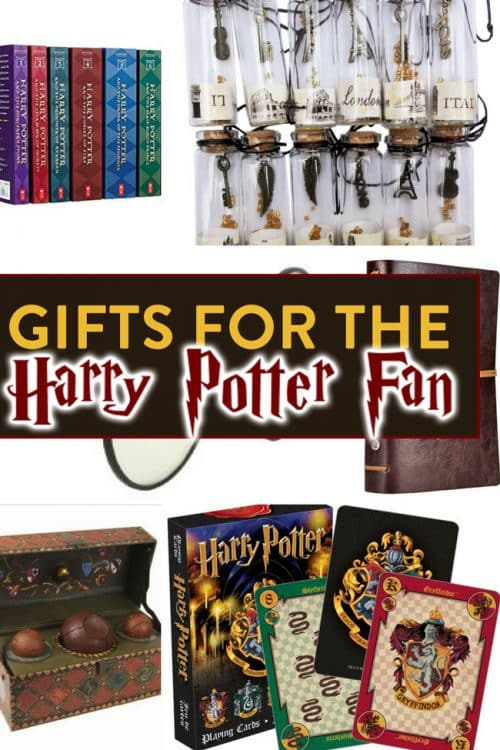 Do you know someone who loves Harry Potter? Here are some ideas for gifts for Harry Potter fans.
