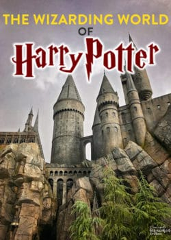 The Wizarding World of Harry Potter at Universal Studios Hollywood. This is my favorite part of Universal, there is so much magic at this theme park.